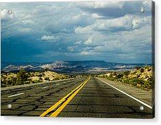 Leaving Arizona Acrylic Print by April Reppucci