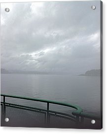 Leaving Bremerton Acrylic Print by Karl Reid