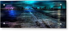 Leaving Long Beach Acrylic Print