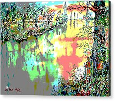 Leaving Middle Earth II Acrylic Print by Almo M
