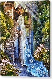 Leaving Wonderland Acrylic Print by Mo T
