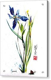 Leaving Zen Acrylic Print