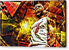 Lebron James Art Poster Acrylic Print