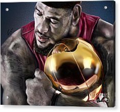 Lebron James - My Way Acrylic Print