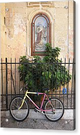 Lecce Italy Bicycle Acrylic Print