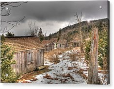 Leconte Lodge Acrylic Print