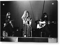 Led Zeppelin 1971 Acrylic Print by Chris Walter