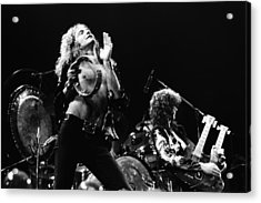 Led Zeppelin Live 1975 Acrylic Print by Chris Walter