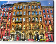 Led Zeppelin Physical Graffiti Building In Color Acrylic Print