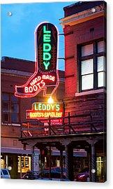 Leddy Hand Made Boots 031315 Acrylic Print