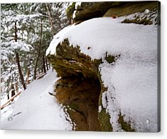 Ledge Acrylic Print by Tim Fitzwater