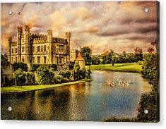 Leeds Castle Landscape Acrylic Print by Chris Lord