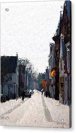 Leer Altstadt Acrylic Print by Steve K