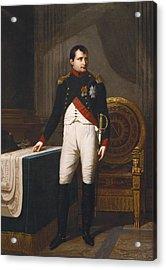 Lefevre, Robert 1755-1830. Portrait Acrylic Print by Everett