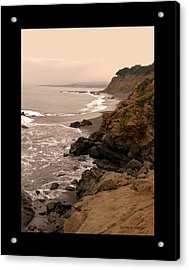 Leffingwell Landing Cambria Duvet Acrylic Print by Barbara Snyder