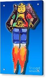Leg Me Go Acrylic Print by Monty Dean