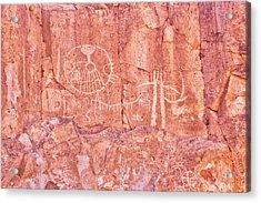 Petroglyphs Owens Valley California Acrylic Print