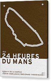 Legendary Races - 1923 24 Heures Du Mans Acrylic Print
