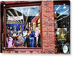 Legends Bar In Downtown Nashville Acrylic Print by Dan Sproul