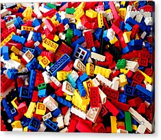 Lego - From 4 To 99 Acrylic Print