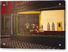 Legohawks Acrylic Print by Patrick Webb