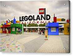 Legoland California Acrylic Print