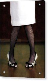 Legs And Shoes Acrylic Print by Joana Kruse