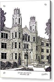Lehigh University Acrylic Print