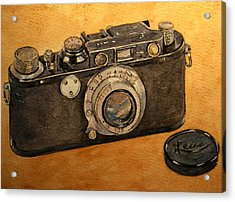 Leica II Camera Acrylic Print