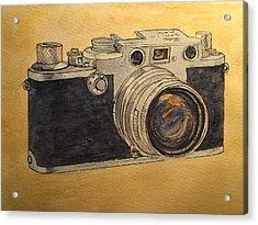 Leica IIif Acrylic Print by Juan  Bosco
