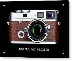 Leica M7 Acrylic Print by Dave Bowman