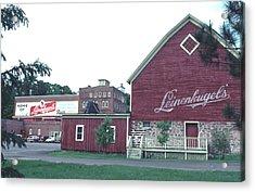 Acrylic Print featuring the photograph Leinenkugel Brewery Chippewa Falls Wi by Tom Wurl