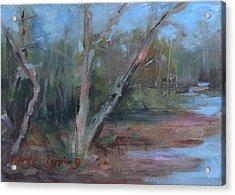 Leiper's Creek Study Acrylic Print by Carol Berning