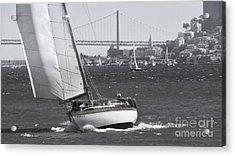 Leisure Sailor Acrylic Print