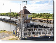 Leland Bowman Locks 2 Acrylic Print by Gregory Daley  PPSA