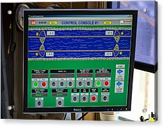 Leland Bowman Locks Controls Acrylic Print