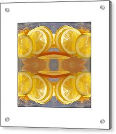 Lemon Drop Acrylic Print by Don Powers