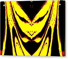 Lemon Face Acrylic Print