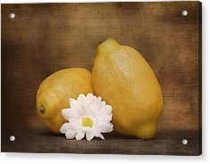 Lemon Fresh Still Life Acrylic Print