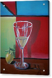 Lemon Juice Acrylic Print