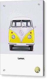 Lemon Acrylic Print by Mark Rogan