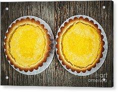 Lemon Tarts Acrylic Print