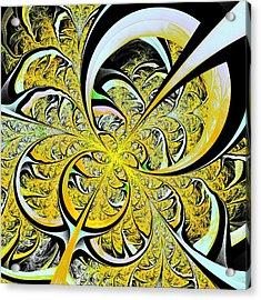 Lemon Twist Acrylic Print by Anastasiya Malakhova