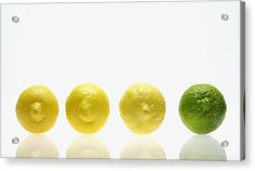 Lemons And Lime Acrylic Print by Kelly Redinger