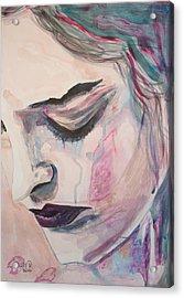 L'encre De Tes Yeux Acrylic Print