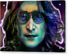 Haunting Lennon  Acrylic Print by Dan Terry