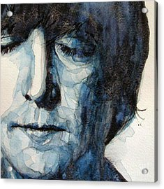 Lennon Acrylic Print by Paul Lovering