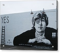 Acrylic Print featuring the photograph Lennon Portrait by Nathan Rupert