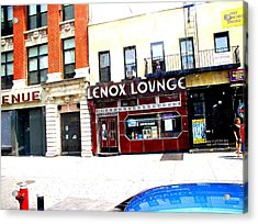 Lenox Lounge Harlem 2005 Acrylic Print by Cleaster Cotton