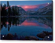 Lenticular Sunset At Tenaya Acrylic Print